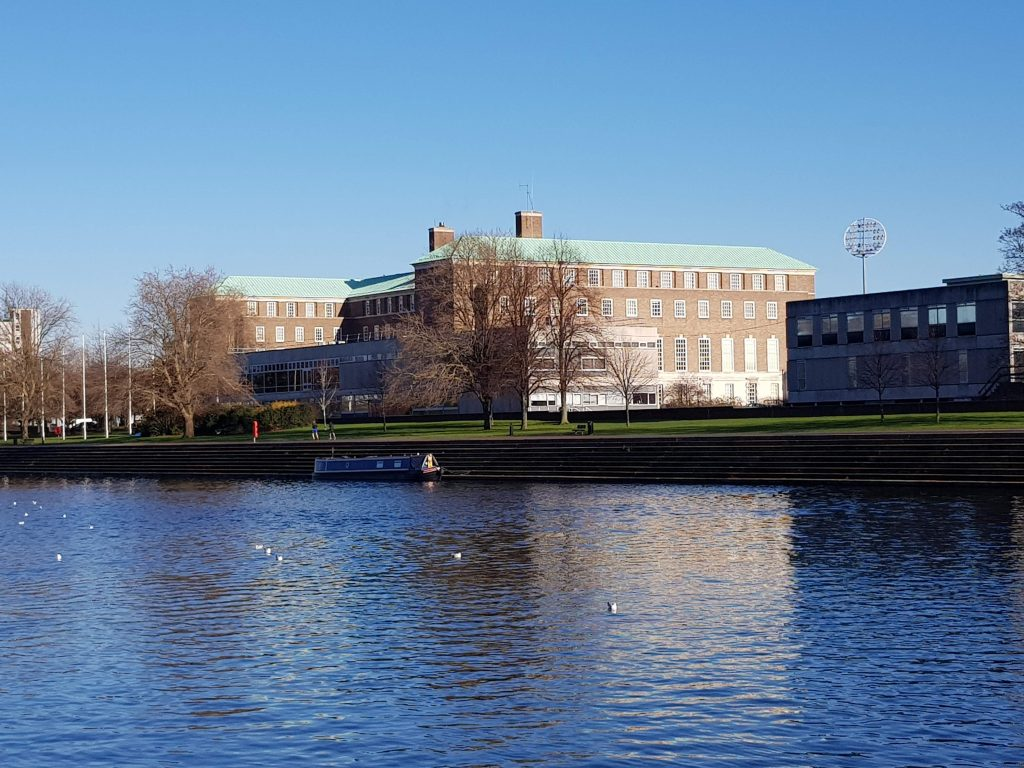 Nottinghamshire County Council Offices in West Bridgford