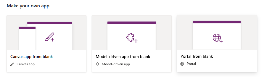 PowerApps initial page